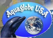 aqua globe small